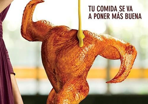 Ý tưởng quảng cáo độc đáo từ thức ăn - ảnh 11
