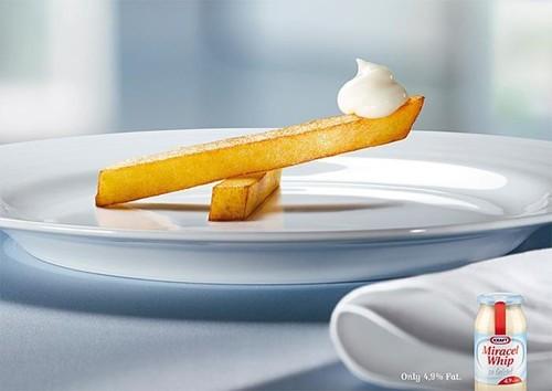 Ý tưởng quảng cáo độc đáo từ thức ăn - ảnh 12
