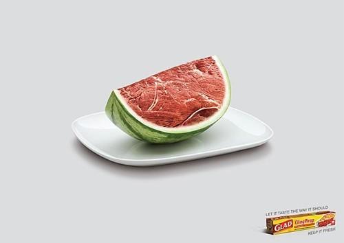 Ý tưởng quảng cáo độc đáo từ thức ăn - ảnh 13