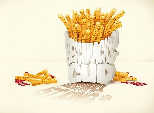Ý tưởng quảng cáo độc đáo từ thức ăn - ảnh 19