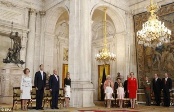 Cận cảnh Lễ thoái vị của vua Tây Ban Nha - ảnh 2