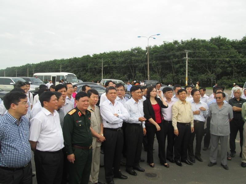 Đoàn công tác QH khảo sát dự án sân bay Long Thành - ảnh 1