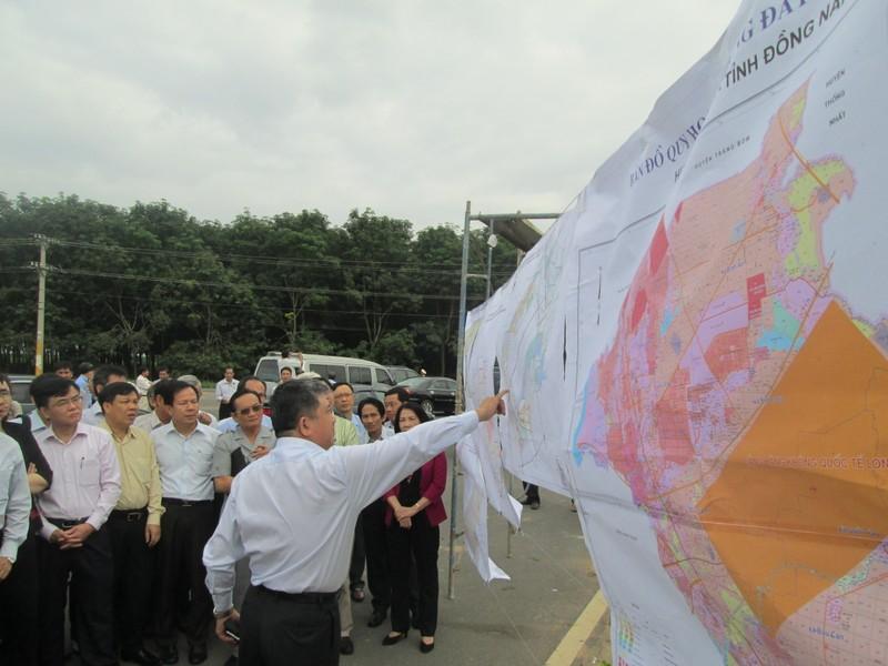 Đoàn công tác QH khảo sát dự án sân bay Long Thành - ảnh 3
