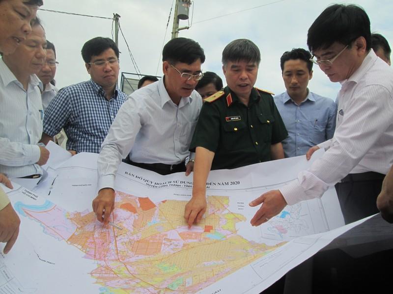 Đoàn công tác QH khảo sát dự án sân bay Long Thành - ảnh 4