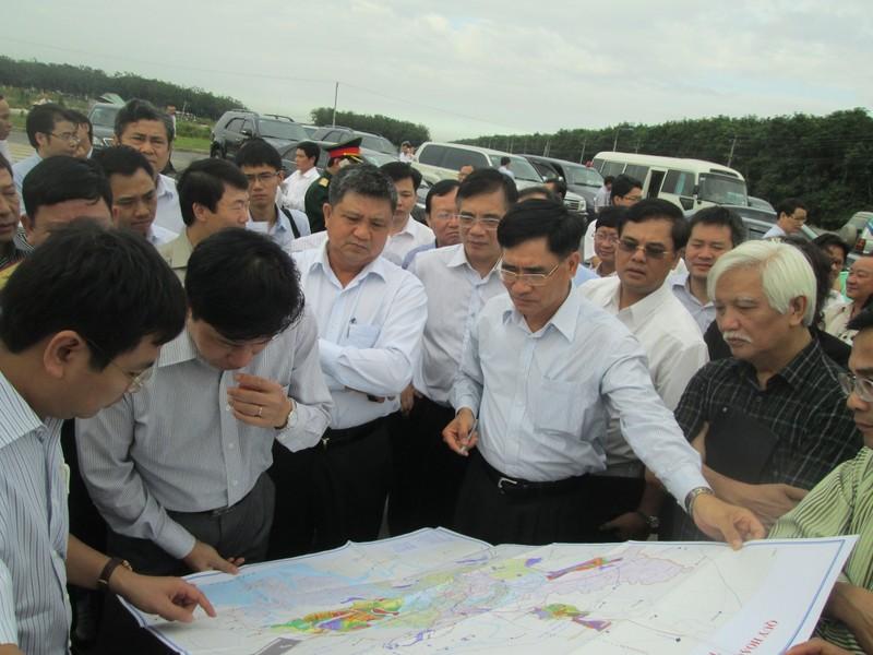 Đoàn công tác QH khảo sát dự án sân bay Long Thành - ảnh 5