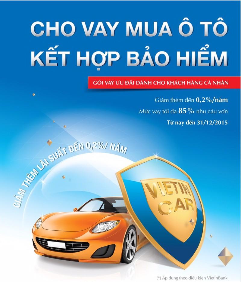 Ưu đãi Cho vay mua ô tô kết hợp bảo hiểm - ảnh 1