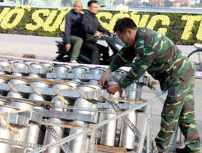 Hà Nội: Sẵn sàng khai hỏa 31 trận địa pháo trong đêm giao thừa - ảnh 2