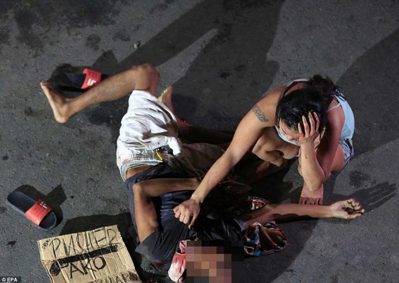 La liệt người chết sau chiến dịch truy quét ma túy tại Philippines - ảnh 8