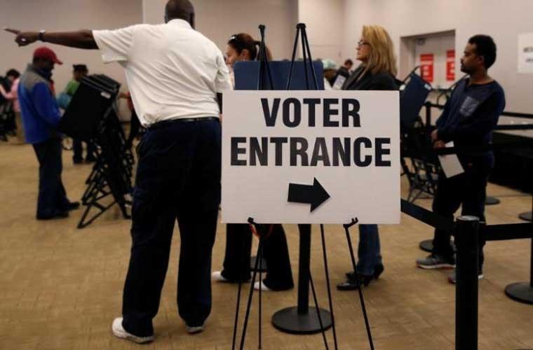 Không khí bầu cử Mỹ qua ảnh - ảnh 3