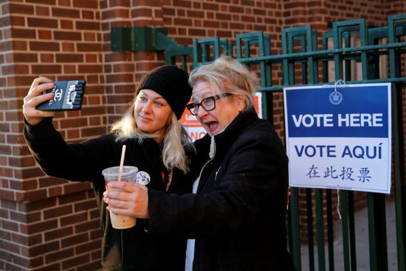Không khí bầu cử Mỹ qua ảnh - ảnh 13