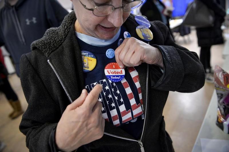 Không khí bầu cử Mỹ qua ảnh - ảnh 6