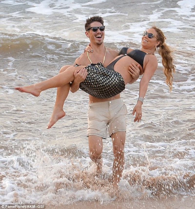 Mariah Carey bên tình mới - ảnh 1