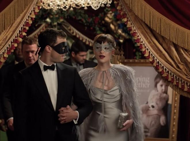 Trailer phim '50 sắc thái' 2 ra mắt với nhiều cảnh nóng - ảnh 1