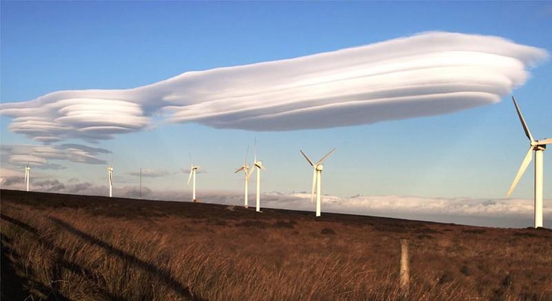 Xuất hiện đám mây có hình thù như đĩa bay ở Nhật - ảnh 3