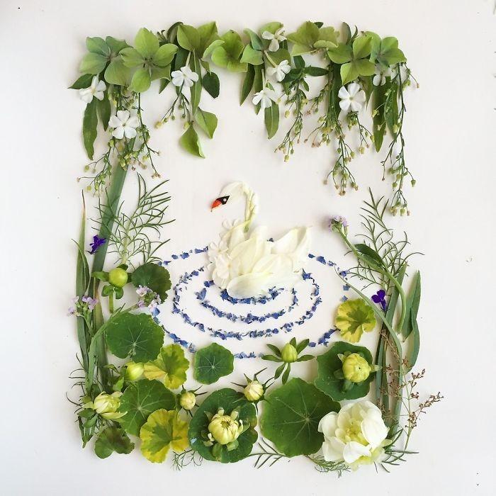Người phụ nữ biến những cánh hoa thành tranh nghệ thuật - ảnh 6