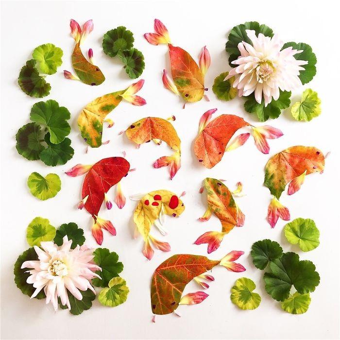 Người phụ nữ biến những cánh hoa thành tranh nghệ thuật - ảnh 14