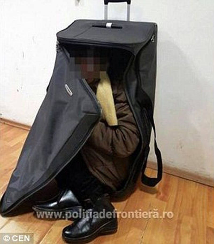 Tự nhốt mình trong valy, nhập cư trái phép vào châu Âu - ảnh 2