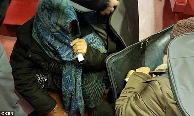 Tự nhốt mình trong valy, nhập cư trái phép vào châu Âu - ảnh 4