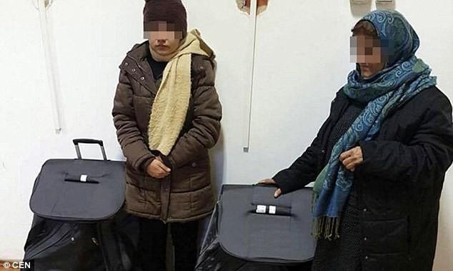 Tự nhốt mình trong valy, nhập cư trái phép vào châu Âu - ảnh 1