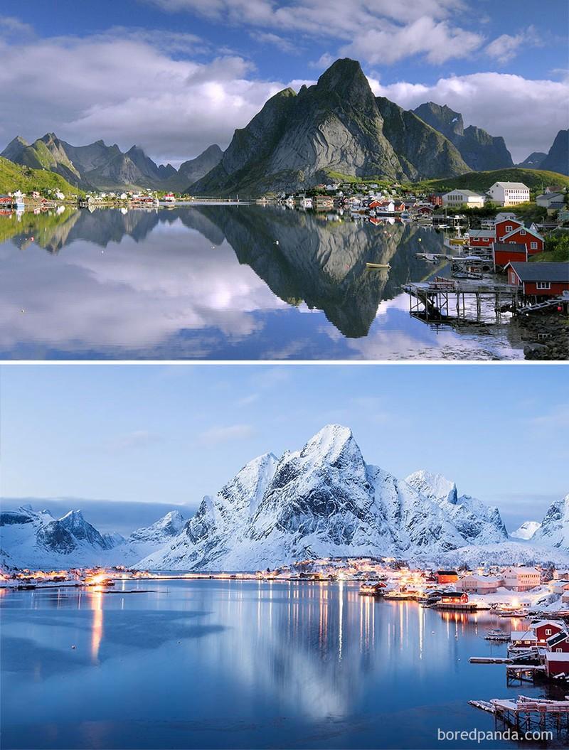 Chùm ảnh: Mùa đông đã biến đổi thế giới như thế nào? - ảnh 9