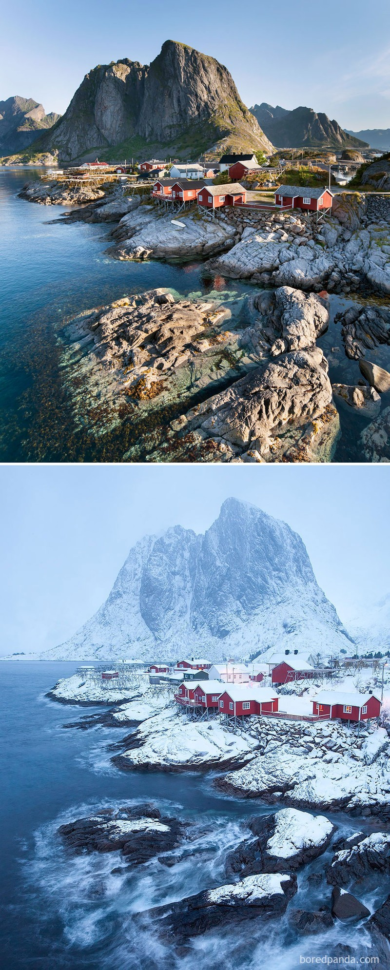 Chùm ảnh: Mùa đông đã biến đổi thế giới như thế nào? - ảnh 2