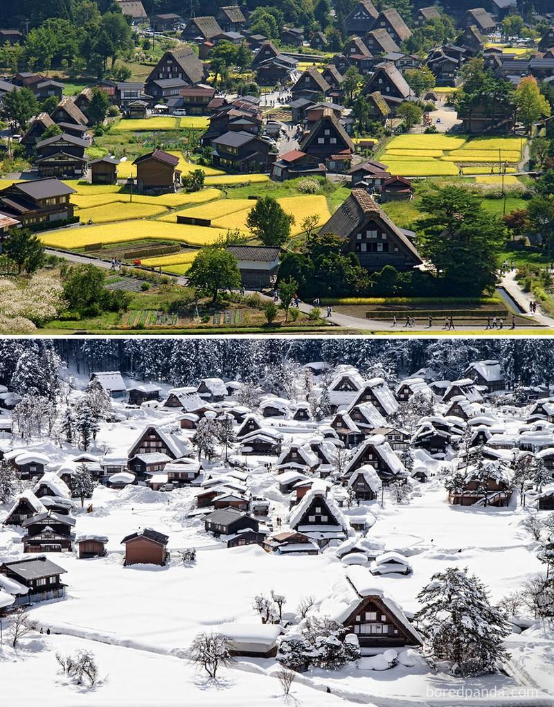 Chùm ảnh: Mùa đông đã biến đổi thế giới như thế nào? - ảnh 3