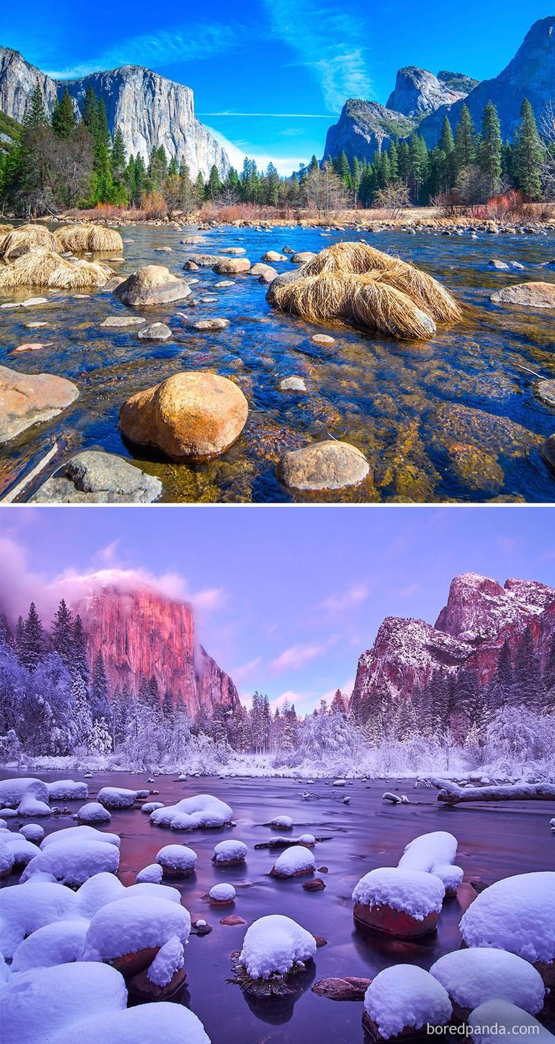 Chùm ảnh: Mùa đông đã biến đổi thế giới như thế nào? - ảnh 4
