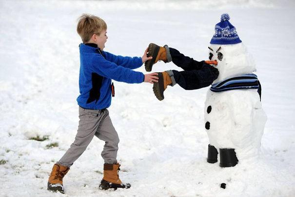 Những người tuyết kinh dị nhất thế giới - ảnh 7
