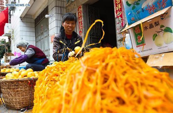 Choáng với cảnh phơi hồng ngập nóc nhà ở Trung Quốc - ảnh 2