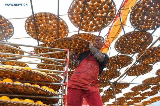Choáng với cảnh phơi hồng ngập nóc nhà ở Trung Quốc - ảnh 3