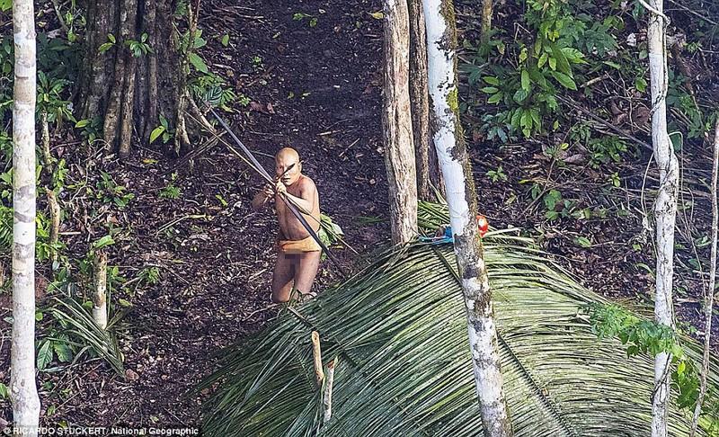 Phát hiện bộ lạc bí ẩn trong rừng Amazon - ảnh 2
