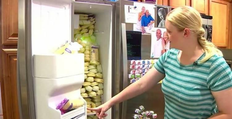 Sốc với mẹ bỉm sữa vắt được 2,5 tấn sữa mẹ - ảnh 2