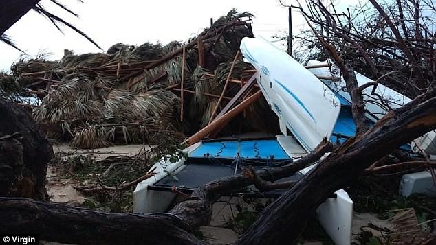 Nhà tỷ phú Richard Branson tan hoang sau bão Irma - ảnh 3