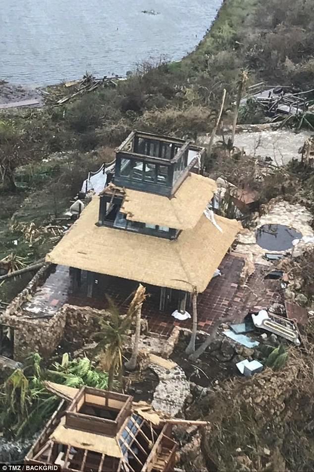 Nhà tỷ phú Richard Branson tan hoang sau bão Irma - ảnh 4