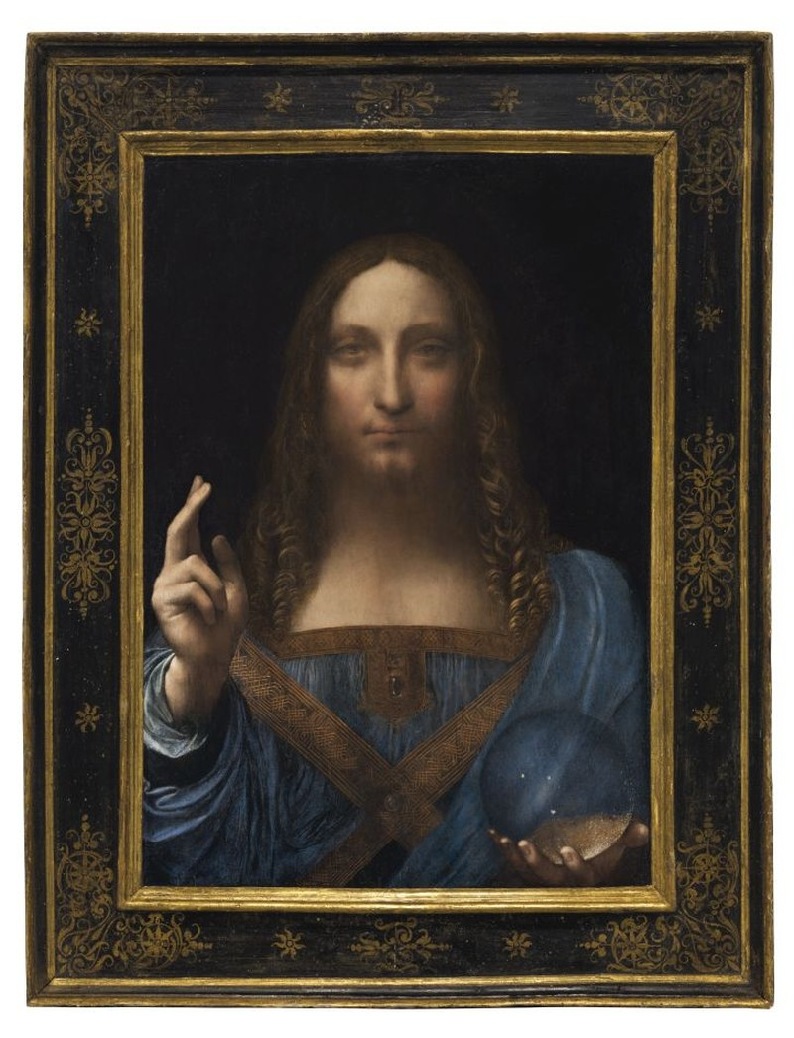 Tranh 60 USD của Da Vinci sắp rao bán giá 100 triệu USD - ảnh 1