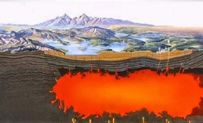 Siêu núi lửa đe dọa loài người sẽ sớm 'hồi sinh' - ảnh 2