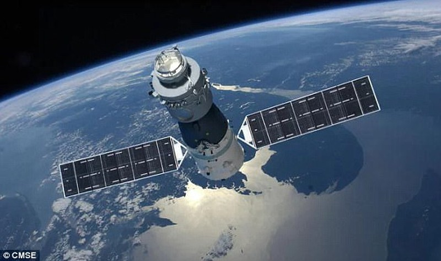Trạm vũ trụ TQ sắp rơi xuống Trái đất - ảnh 1