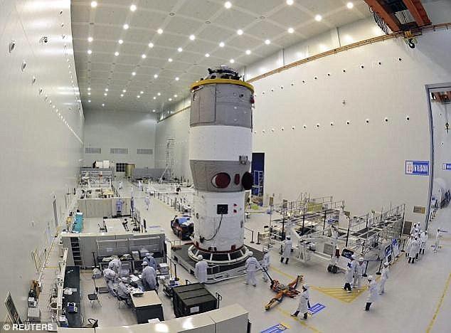 Trạm vũ trụ TQ sắp rơi xuống Trái đất - ảnh 2