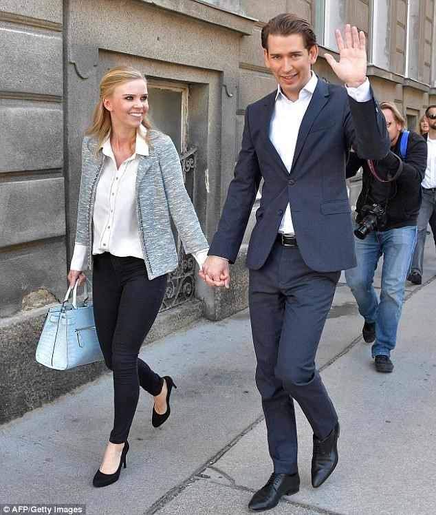 Bạn biết gì về người yêu của lãnh đạo trẻ nước Áo? - ảnh 3