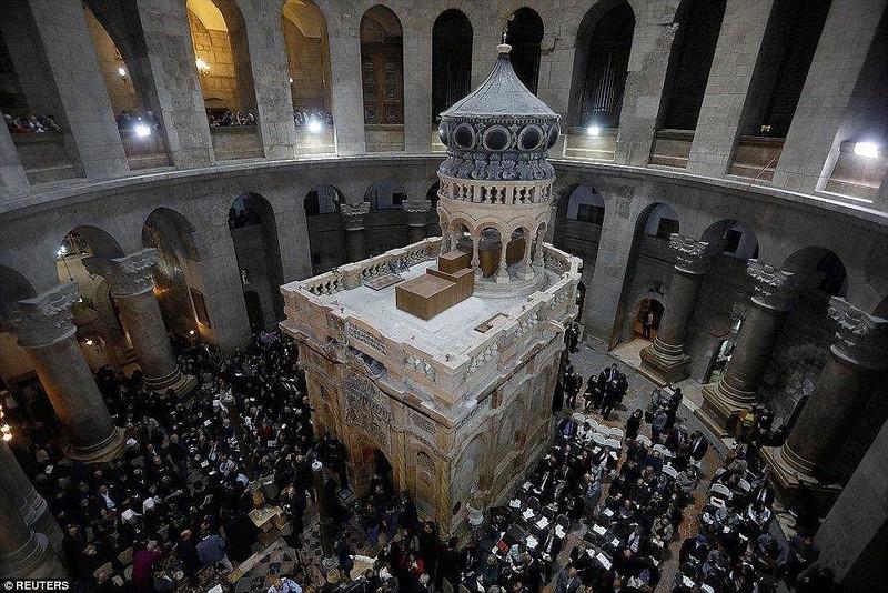 Thêm hé lộ mới về 'hầm mộ' của Chúa Jesus - ảnh 1