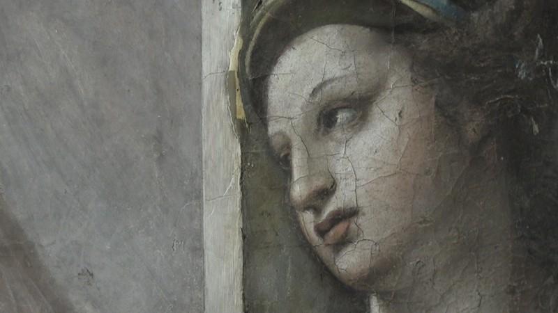 Trùng tu Vatican, phát hiện kiệt tác hội họa 500 năm - ảnh 1