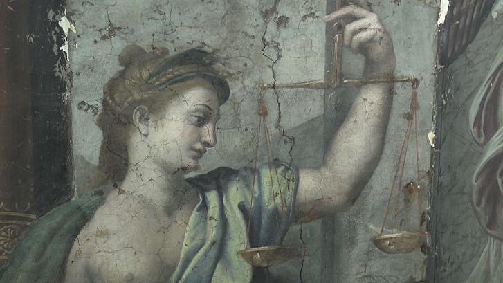 Trùng tu Vatican, phát hiện kiệt tác hội họa 500 năm - ảnh 2