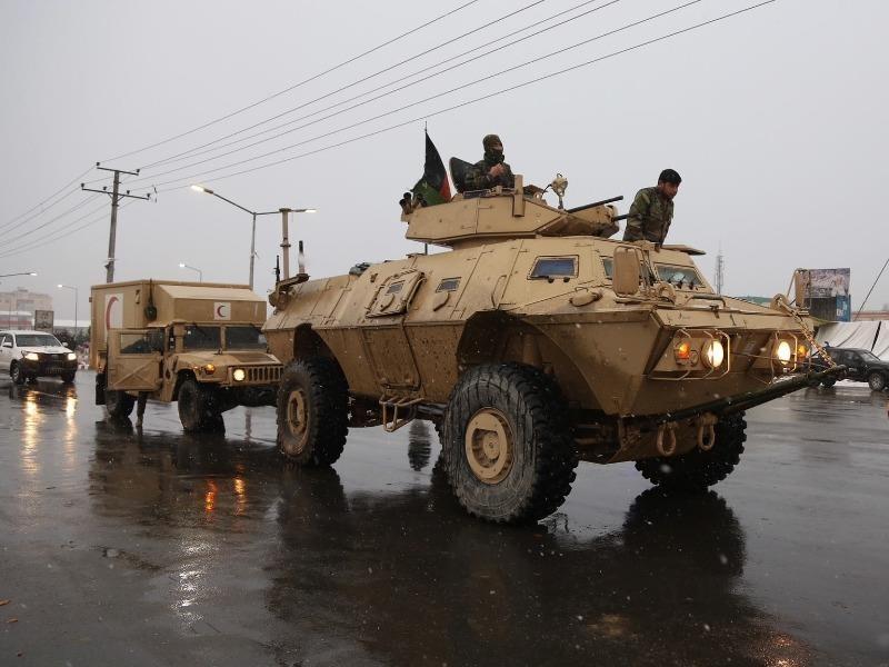 Khủng bố đánh Học viện quân sự Afghanistan - ảnh 1