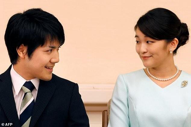 Đám cưới của công chúa Nhật bất ngờ bị hoãn - ảnh 1