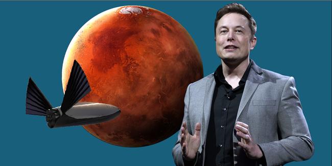 Lo tận thế, tỉ phú Mỹ muốn đưa 1 triệu dân lên sao hỏa - ảnh 3
