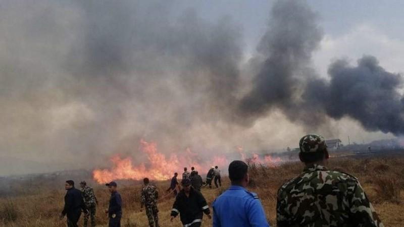 Máy bay rơi ở Nepal: Ít nhất 49 người chết - ảnh 2