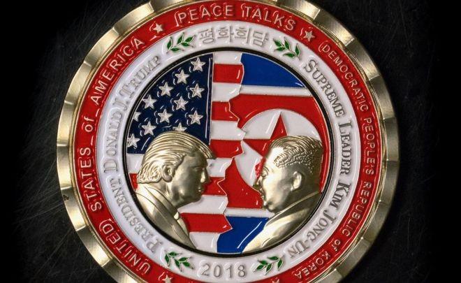 Thượng đỉnh Mỹ-Triều bị hủy, đồng xu kỷ niệm vẫn cháy hàng - ảnh 1