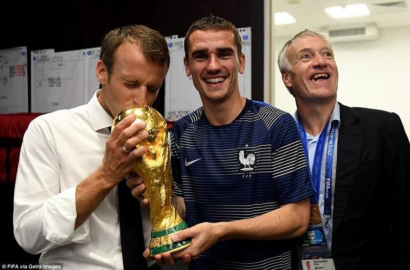 Tổng thống Macron phấn khích khi Pháp vô địch World Cup - ảnh 6