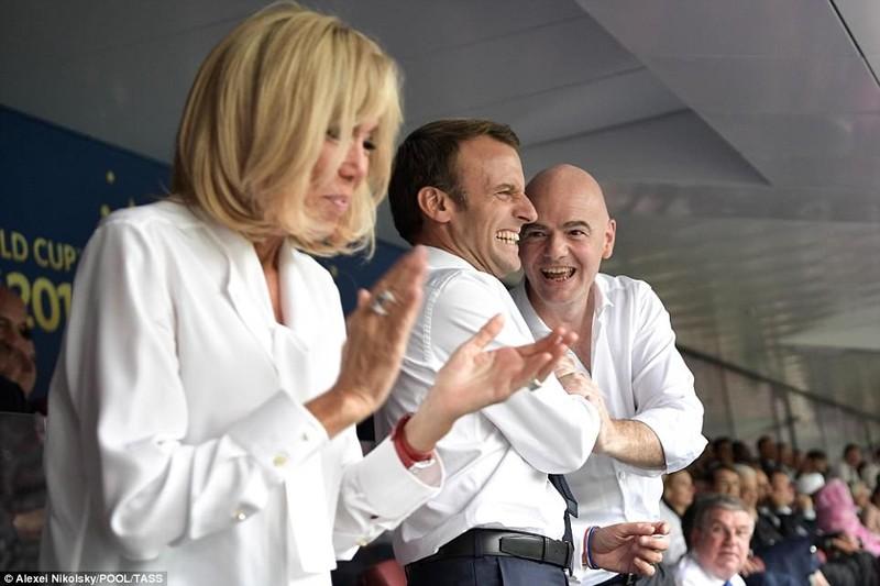 Tổng thống Macron phấn khích khi Pháp vô địch World Cup - ảnh 1