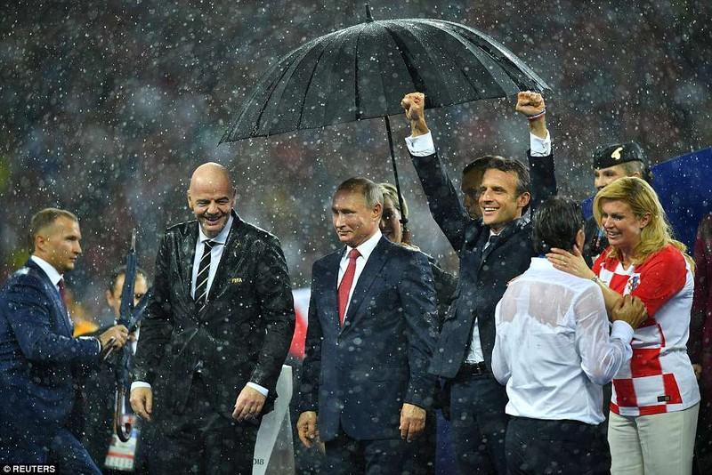 Tổng thống Macron phấn khích khi Pháp vô địch World Cup - ảnh 5